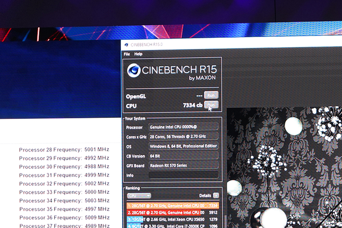 Computex英特尔还展示了905P SSD28核至强