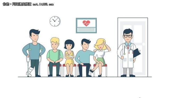 去医院终于不用再排队啦~