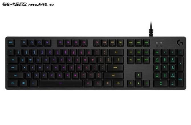 全新ROMER G轴体 罗技发布G512 RGB机械键盘
