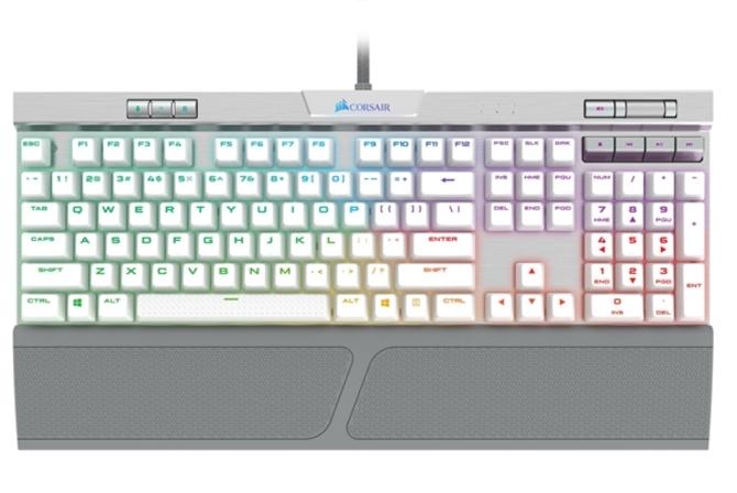 静音30%! 海盗船发布三款游戏机械键盘