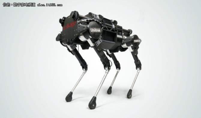 黑科技降临零一科技节 中国版大狗了解一下?