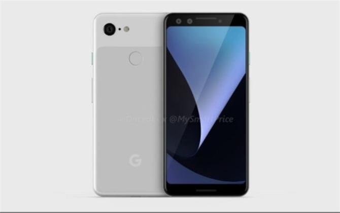 谷歌Pixel 33 XL外观曝光 采用前置双摄