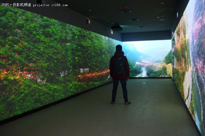 案例报道:索尼工程投影机郎酒集团展厅