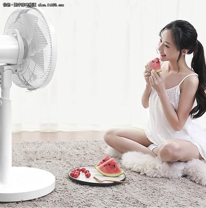 感受自然风的惬意清凉 直流变频电风扇推荐