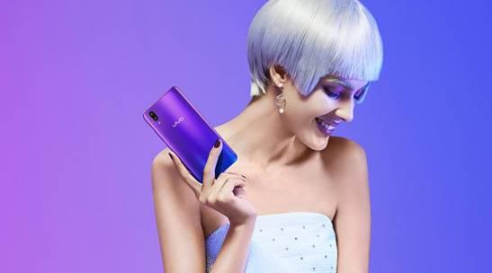 vivo X21魅夜紫图赏:蓝与紫的梦幻交织