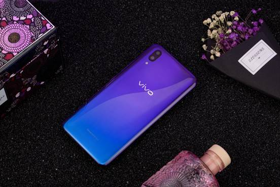 vivo X21魅夜紫香薰礼盒图赏:紫成一派的时尚飓风