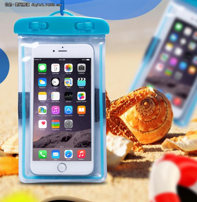 手机防水袋夜光款 海滩安全防漏6.9元