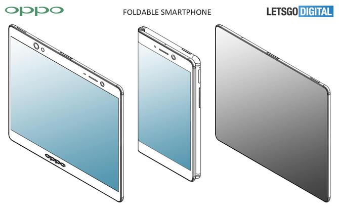 oppo折叠屏幕专利曝光 手机形态的全新探索