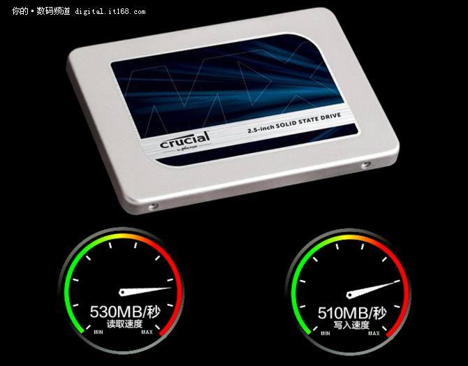 英睿达MX300固态硬盘525GB 679元还包邮
