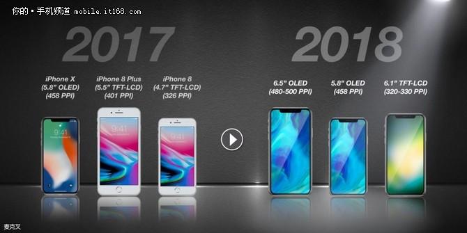 传廉价版iPhone X将提供5种配色