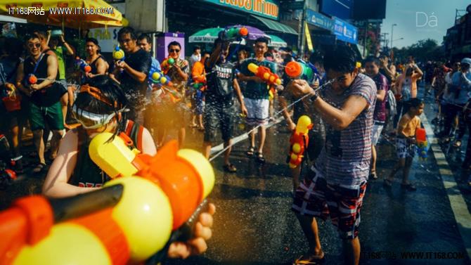 人文扫街必备 索尼A7M3清迈泼水节拍摄教程