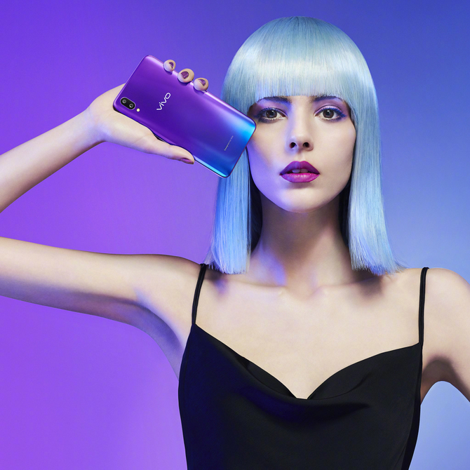 前卫科技 vivo X21魅夜紫背后的年轻态度