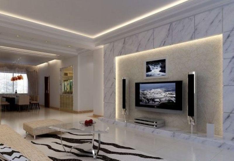 最新客厅电视背景墙效果图赏