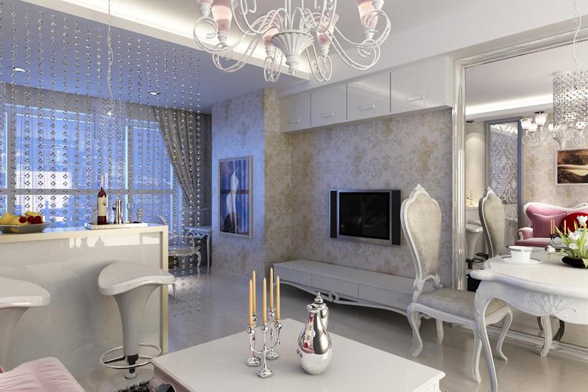 客厅电视柜装修效果图大全2011图片最新