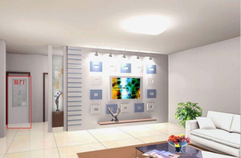 40款客厅电视背景墙效果图赏  (13/41) 电视背景墙是整个家装过程中