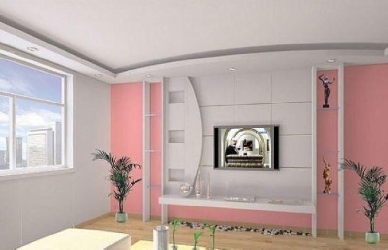 40款客厅电视背景墙效果图赏  (34/41) 电视背景墙是整个家装过程中最
