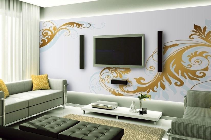 客厅电视背景墙效果图赏2012