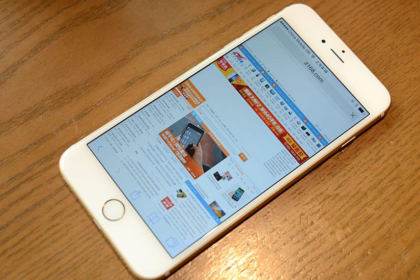 黄牛开价1万8 5.5英寸iPhone6 Plus开箱的照片 - 23