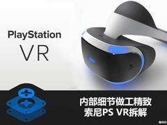 内部细节精致 索尼PlayStation VR拆解