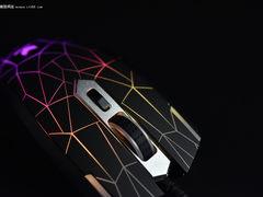发光MOBA游戏鼠标 雷柏V26s新品开箱
