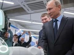 俄罗斯机器人逃跑 结局笑喷了