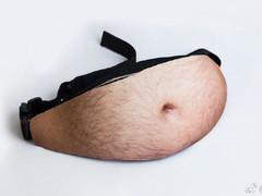 """""""肚腩腰包""""横空出世:再也不嫌弃自己胖了"""