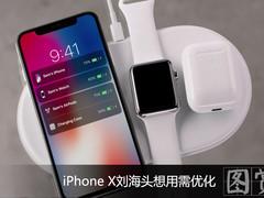 强迫症勿进!iPhone X刘海头想用需优化
