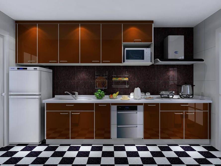 厨房应该这样装 不同风格装修油烟机效果图