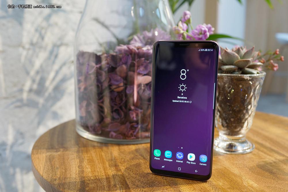最佳配色 三星Galaxy S9+夕雾紫真机图赏