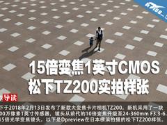 15倍变焦1英寸CMOS 松下TZ200实拍样张