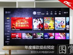 年度爆款OLED电视预定 索尼65A8F电视图赏