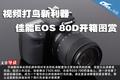 视频打鸟新利器 佳能EOS 80D开箱图赏