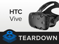 做工精致易维修 HTC vive消费者版拆解