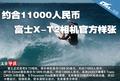 约合11000人民币 富士X-T2相机官方样张