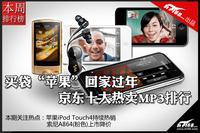 """买袋""""苹果""""回家过年 京东热卖MP3排行"""
