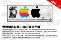 苹果旧标雷人 世界知名公司LOGO演进图