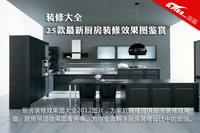 厨房装修效果图大全2012图片 最新25款