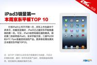 iPad3销量第一 本周京东平板销量TOP10