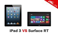 同价格的PK 微软Surface RT对比iPad3