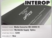 Interop网络通信展一起追的热门产品
