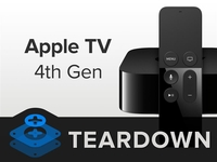 做工秒杀国产盒子 苹果新Apple TV拆解