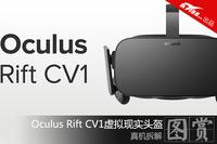 真机拆解Oculus Rift CV1虚拟现实头盔