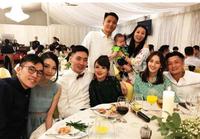 余文乐大方携女友参加好友婚礼 甜蜜发糖