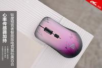 心率传感器加持 钛度黑百合电竞鼠标图赏