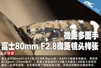 微距多面手 富士80mm F2.8微距镜头样张