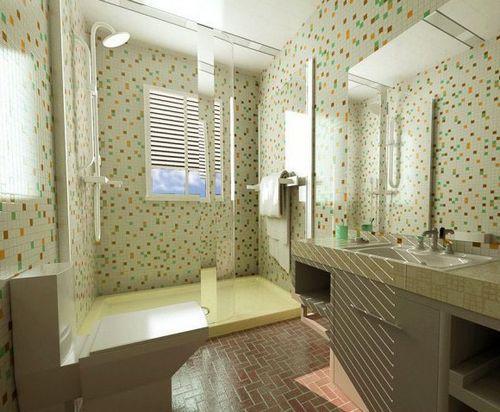 卫生间里的创意 48款卫浴装修效果图赏