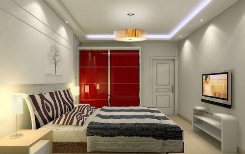 现代简约 60款超人气卧室装修效果图赏
