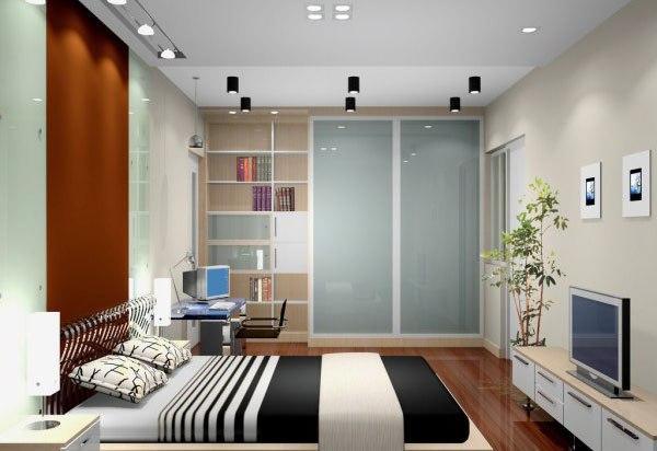 50款小面积卧室装修效果图赏