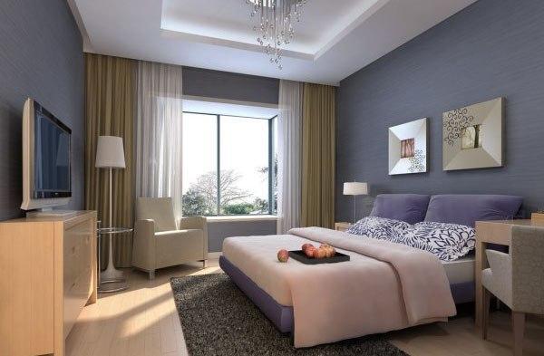 精致浪漫 50款小面积卧室装修效果图赏