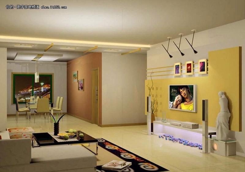 30款客厅电视背景墙装修图赏